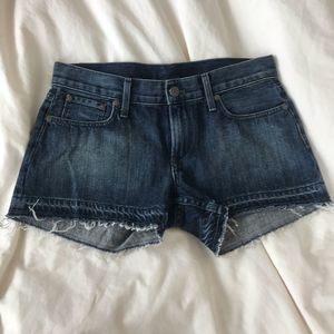 Helmut Lang Denim Jean Shorts
